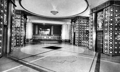 SS Normandie Entrance Hall
